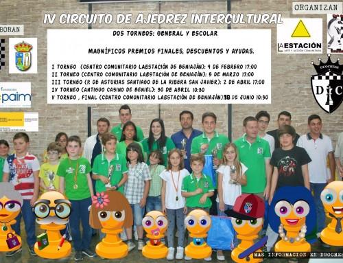 Fechas actualizadas del IV Circuito Intercultural Duochess