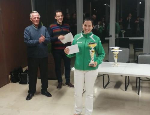 Sonia Gil Pentacampeona Regional Femenino