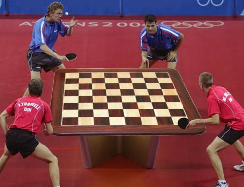 I Olimpiadas Ping pong Chess por parejas