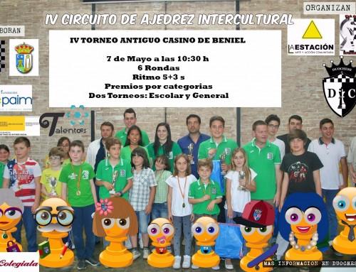 IV Parada IV Circuito Intercultural de Ajedrez