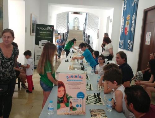 Éxito en la exhibición de Santomera