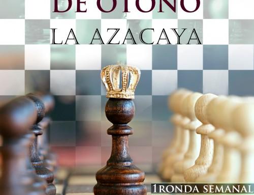 Ronda 2 Torneo otoño La Azacaya