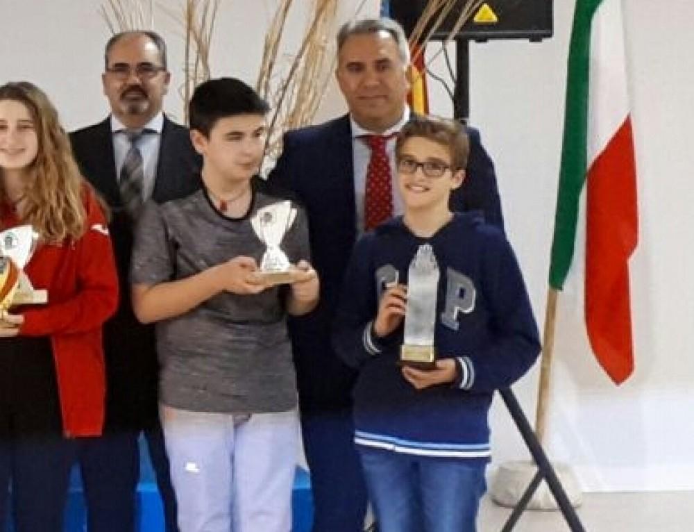 Javier Martínez subcampeon Nuevas Generaciones Sub12