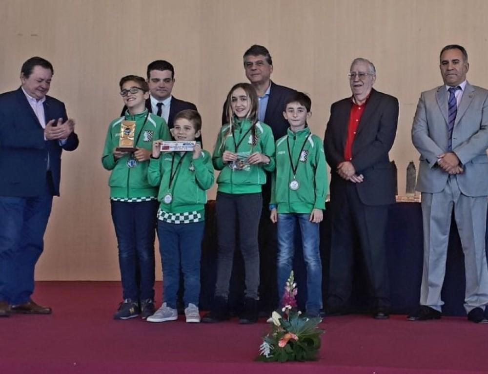Tercer puesto en el Campeonato de España de clubes Sub12