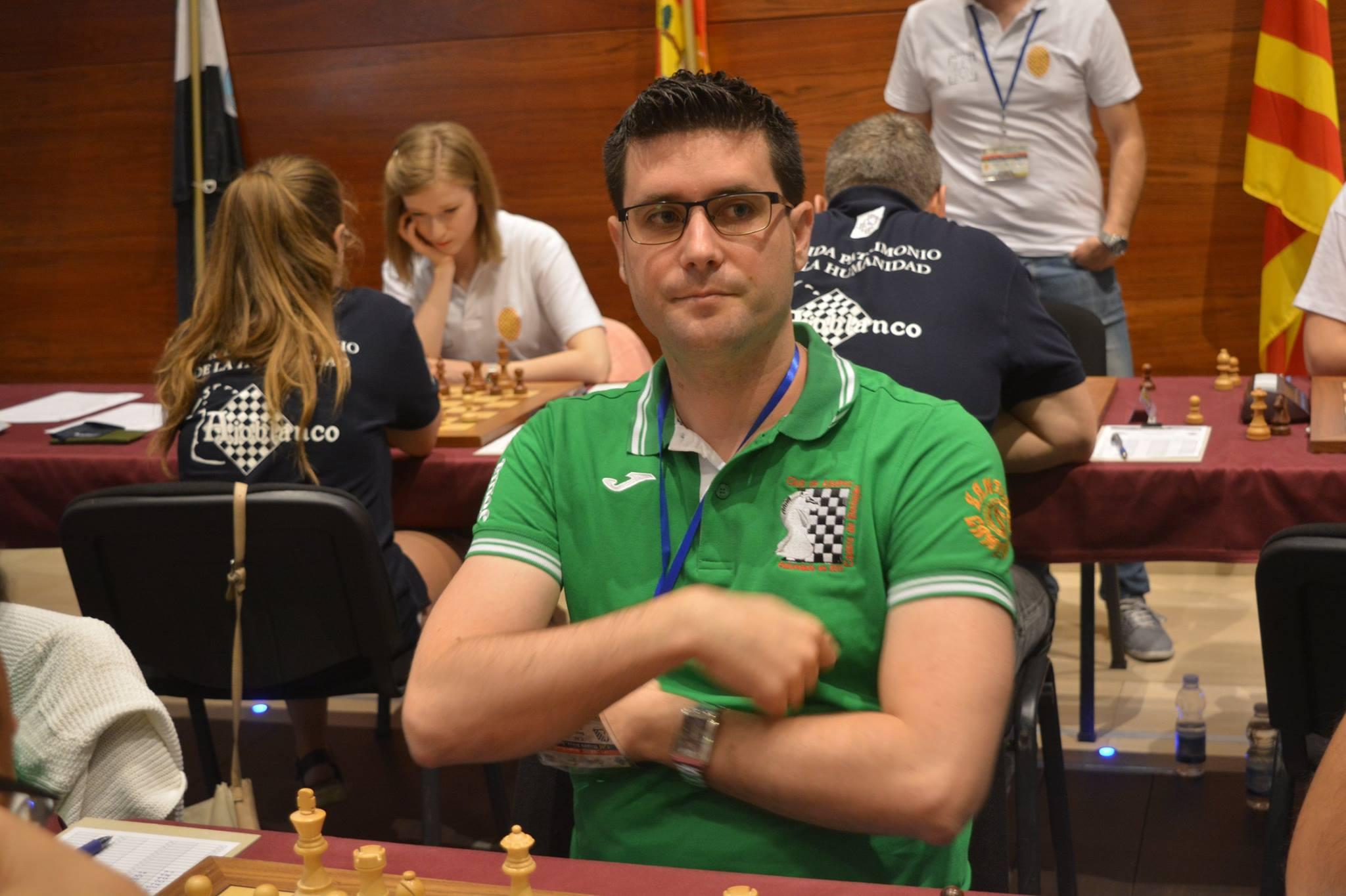 Jose Carlos Ibarra campeón regional Blitz
