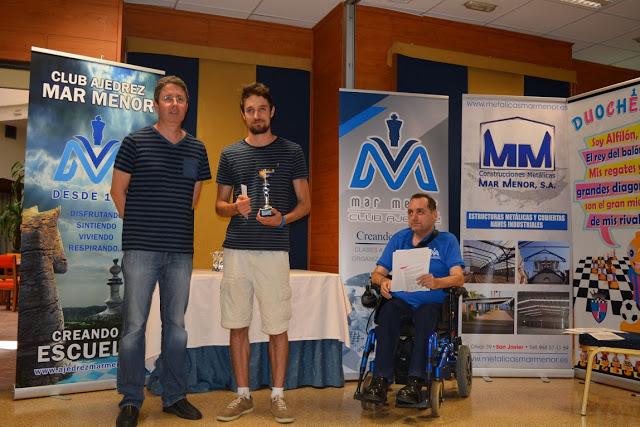 Finaliza el II Festival de Ajedrez de Mar Menor