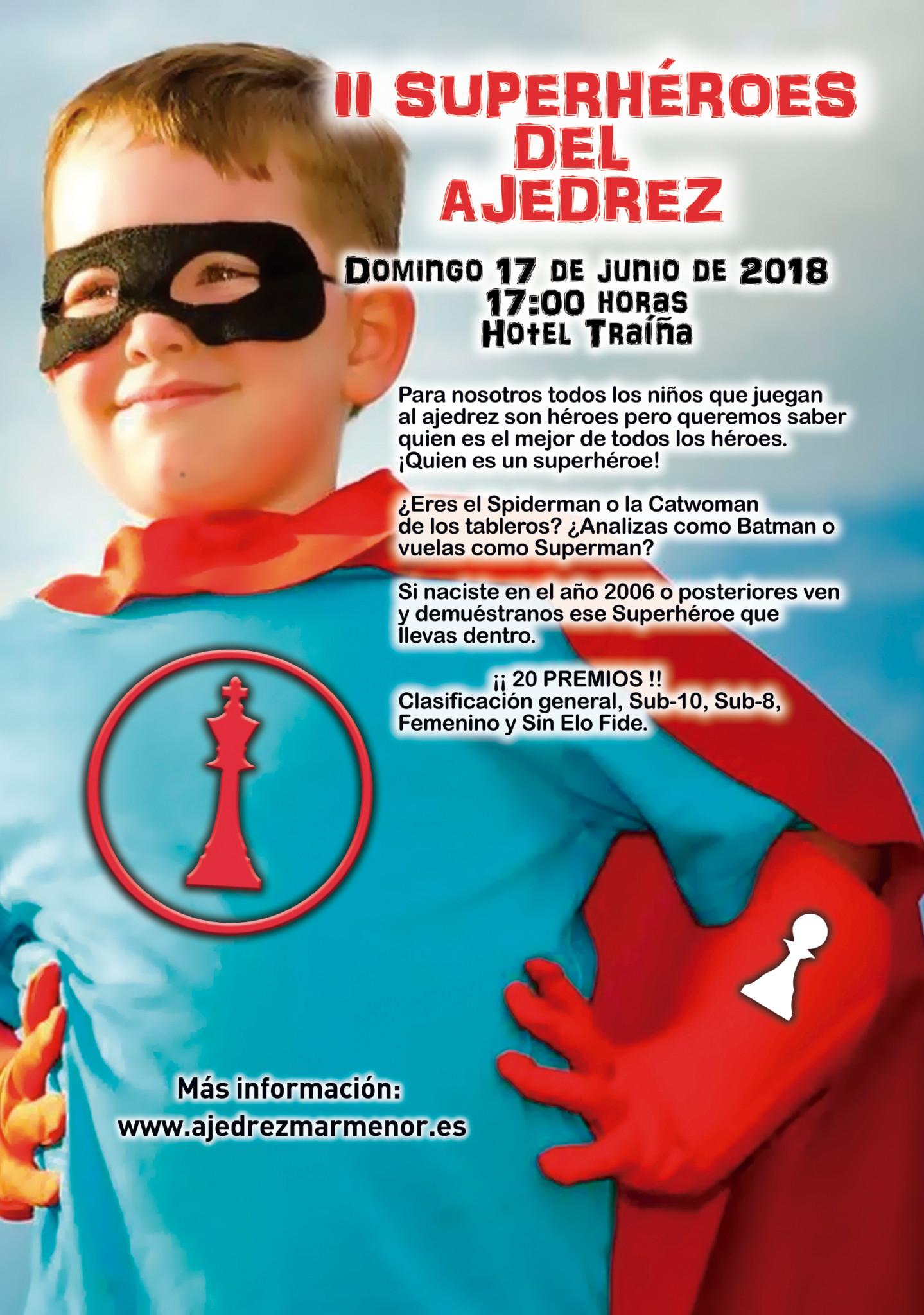 II Torneo Infantil SuperHéroes