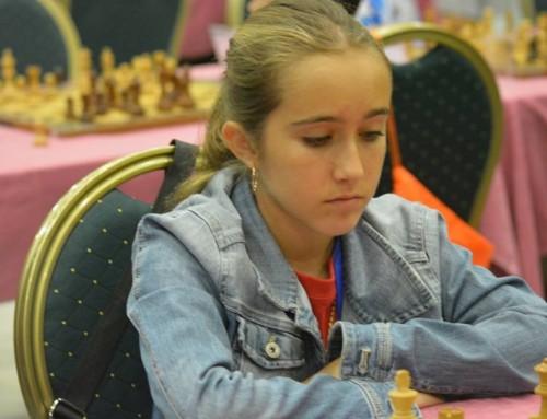 Claudia Ruiz cuarta de España Sub12