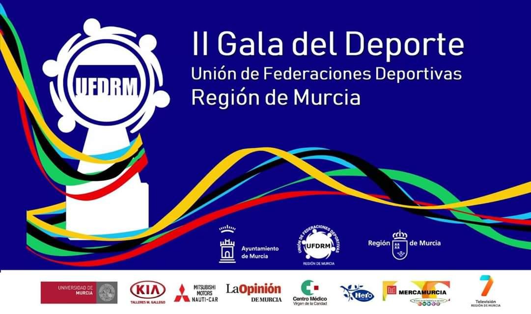 Pablito premiado en la gala del Deporte de Murcia