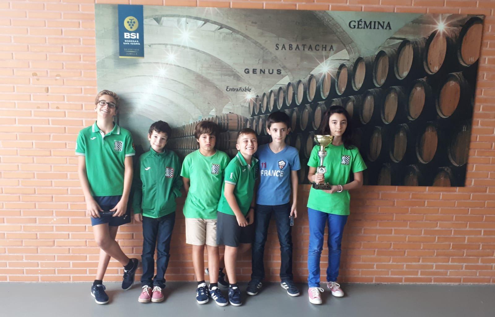 La Escuela Duochess Campeones en el Interprovincial