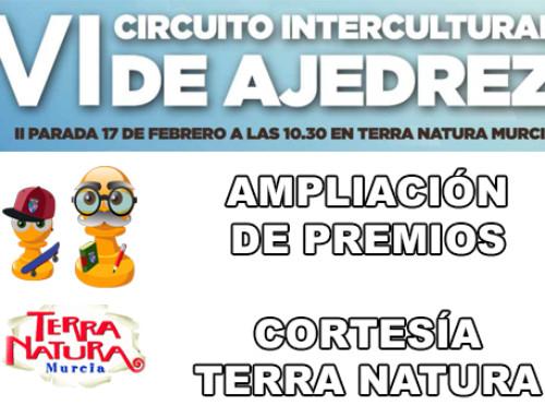 Ampliación de premios – Parada Terra Natura