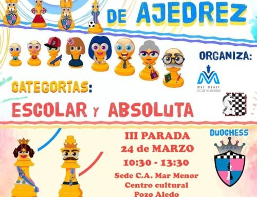 III Parada VI Circuito Intercultural-Listado provisional de inscritos