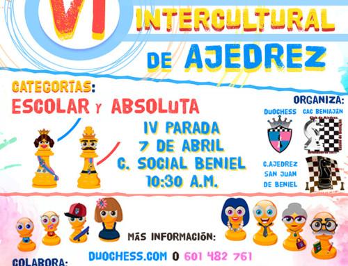 IV Parada VI Circuito Intercultural de Ajedrez.