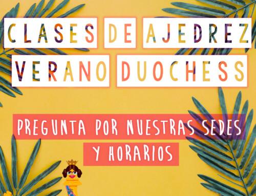Clases de Ajedrez Verano 2019