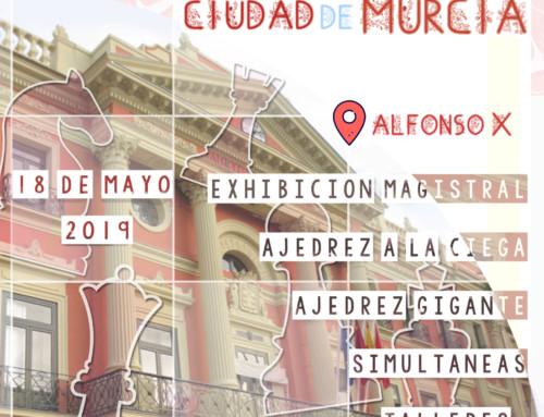 I FESTIVAL CIUDAD DE MURCIA: Ajedrez en la calle