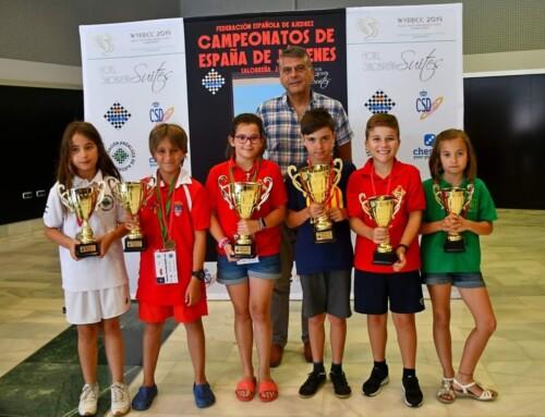 Pablito, Podium en el Campeonato de España Sub10