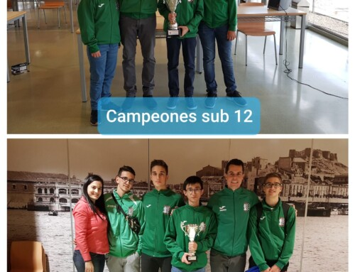 C.A.Beniajan-Duochess  Campeones y Subcampeones Regionales por equipos de edades.