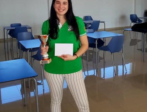 Sonia Gil Campeona Regional Femenina